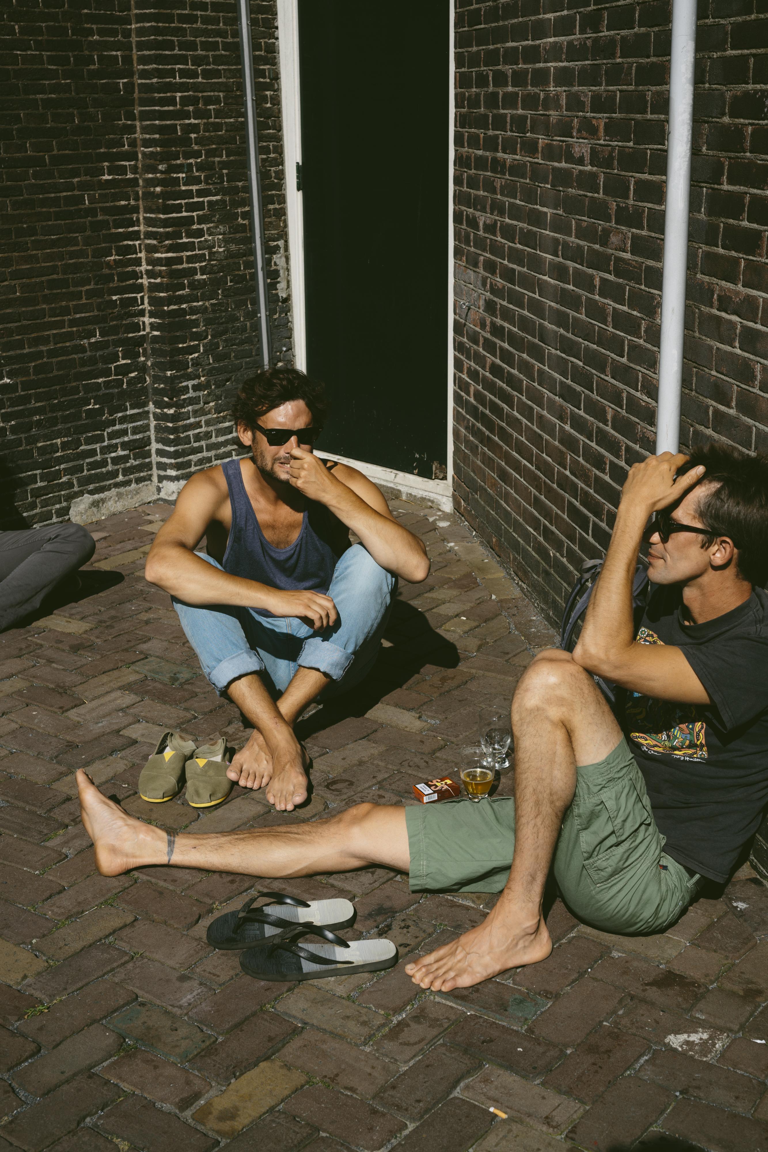 Terras Brouwerij 't IJ Amsterdam