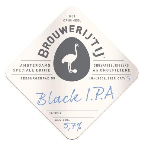 Black I.P.A. Brouwerij 't IJ Amsterdam