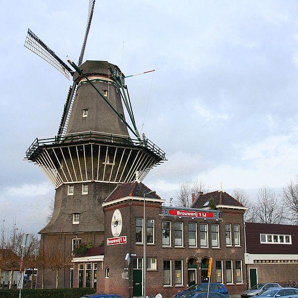 Molen De Gooyer Brouwerij Amsterdam