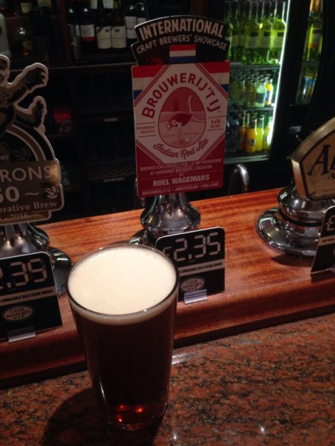 India Red Ale cask real ale festival Wetherspoon