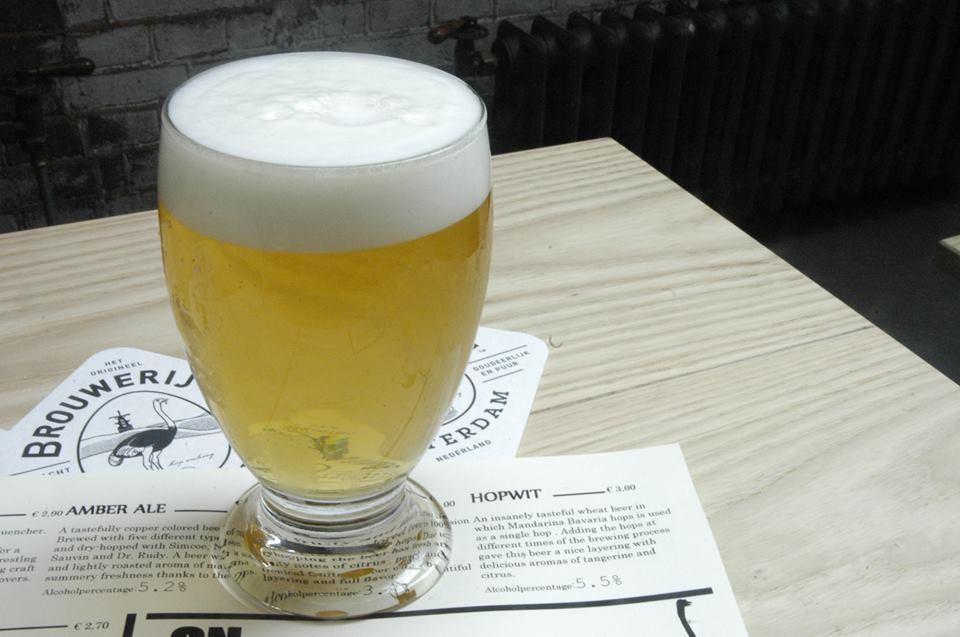 Hopwit witbier Brouwerij 't IJ