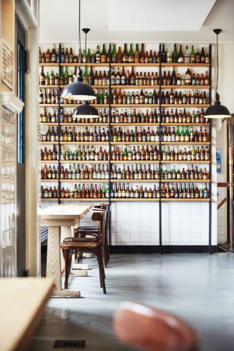 Flessenwand Brouwerij 't IJ