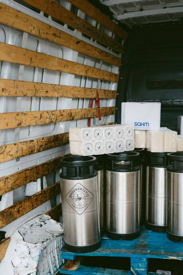 vacature bezorger brouwerij