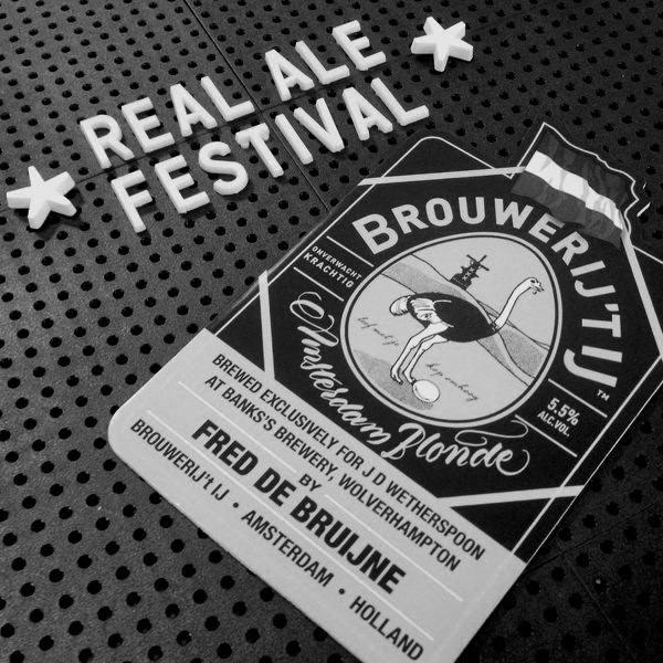 Brouwerij 't IJ Real Ale Festival