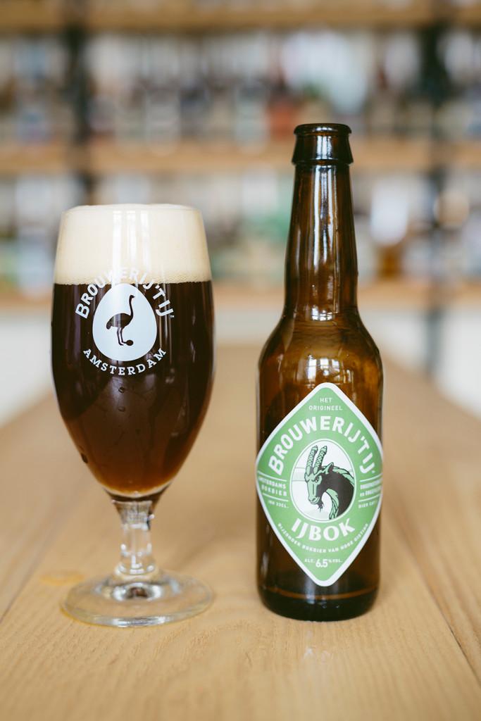 IJbok bock beer Amsterdam