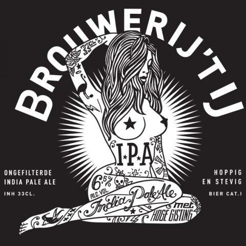 Label IPA Brouwerij 't IJ