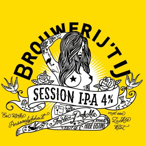 Session IPA Brouwerij 't IJ