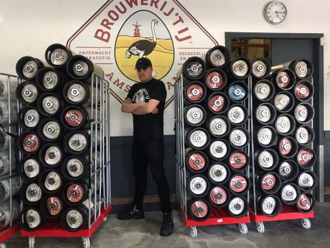Baas van de bottellijn van Brouwerij 't IJ