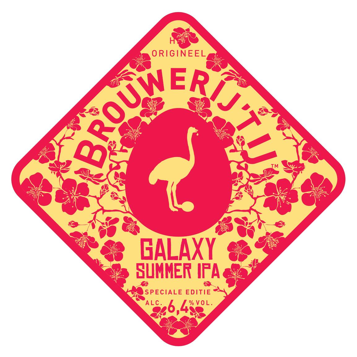 Galaxy Summer IPA Brouwerij 't IJ