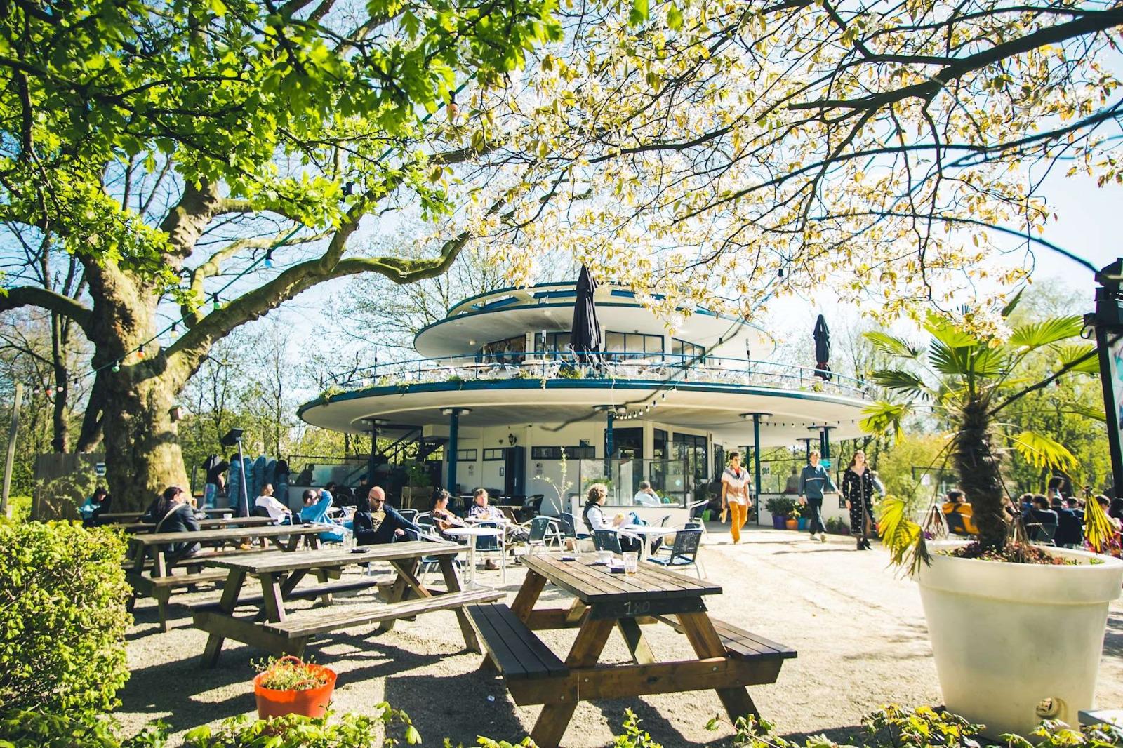 Proeflokaal 't Blauwe Theehuis Vondelpark