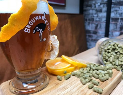 Mandarina Pale Ale Brouwerij 't IJ