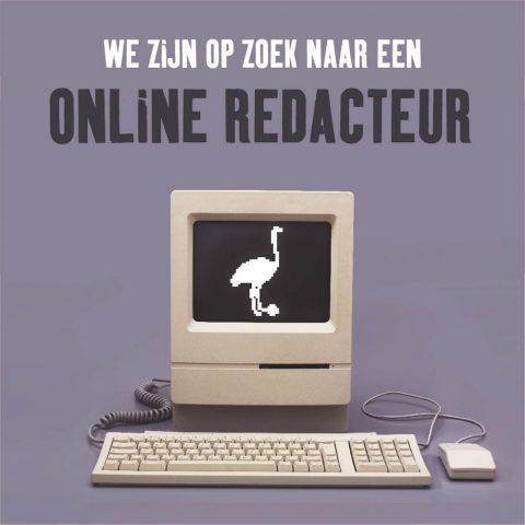 Vacature redacteur online Brouwerij 't IJ
