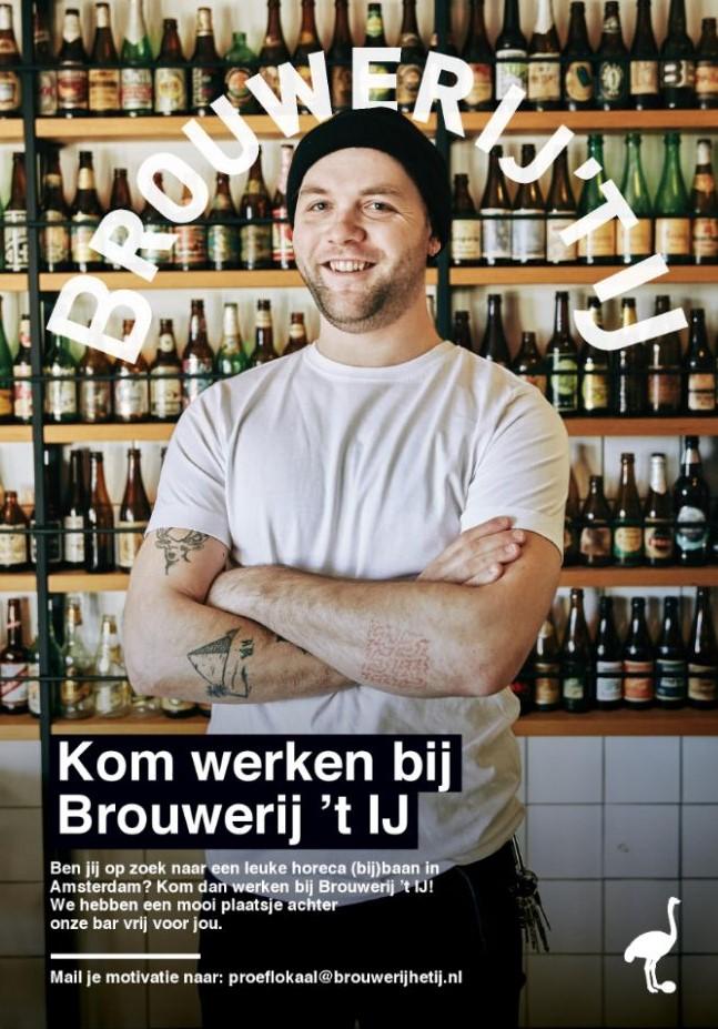 Werken bij de Brouwerij