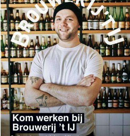 Vacature bar Brouwerij 't IJ