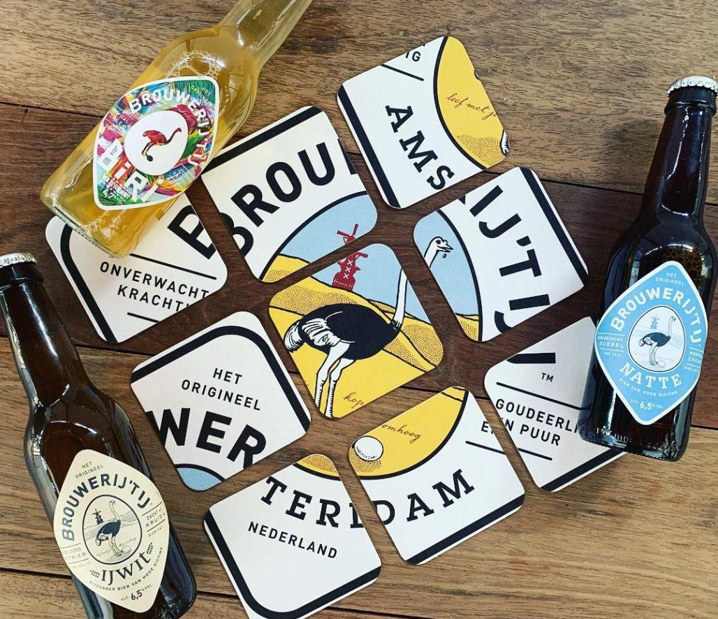 Amsterdamse bierviltjes