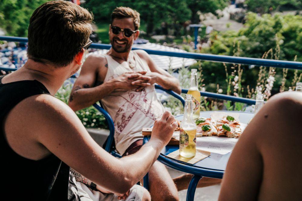 Eten en drinken Vondelpark